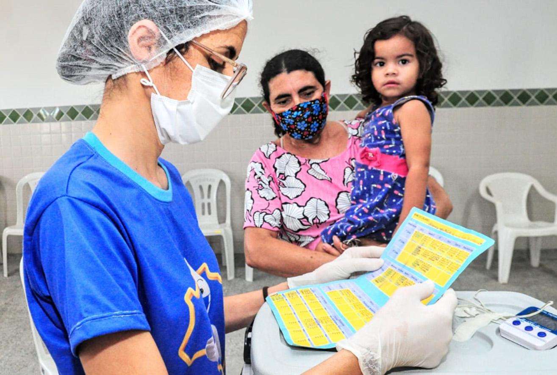CRAS Jardim das Palmeiras realiza vacinação em crianças em parceria com UBS do Dom Jaime Câmara