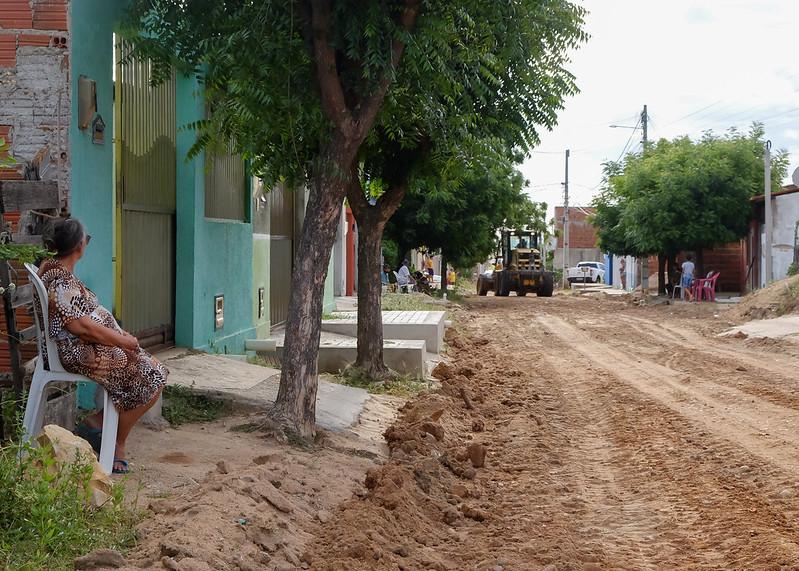 Ruas do Sumaré recebem serviços de recuperação e prefeitura prepara projetos para pavimentação