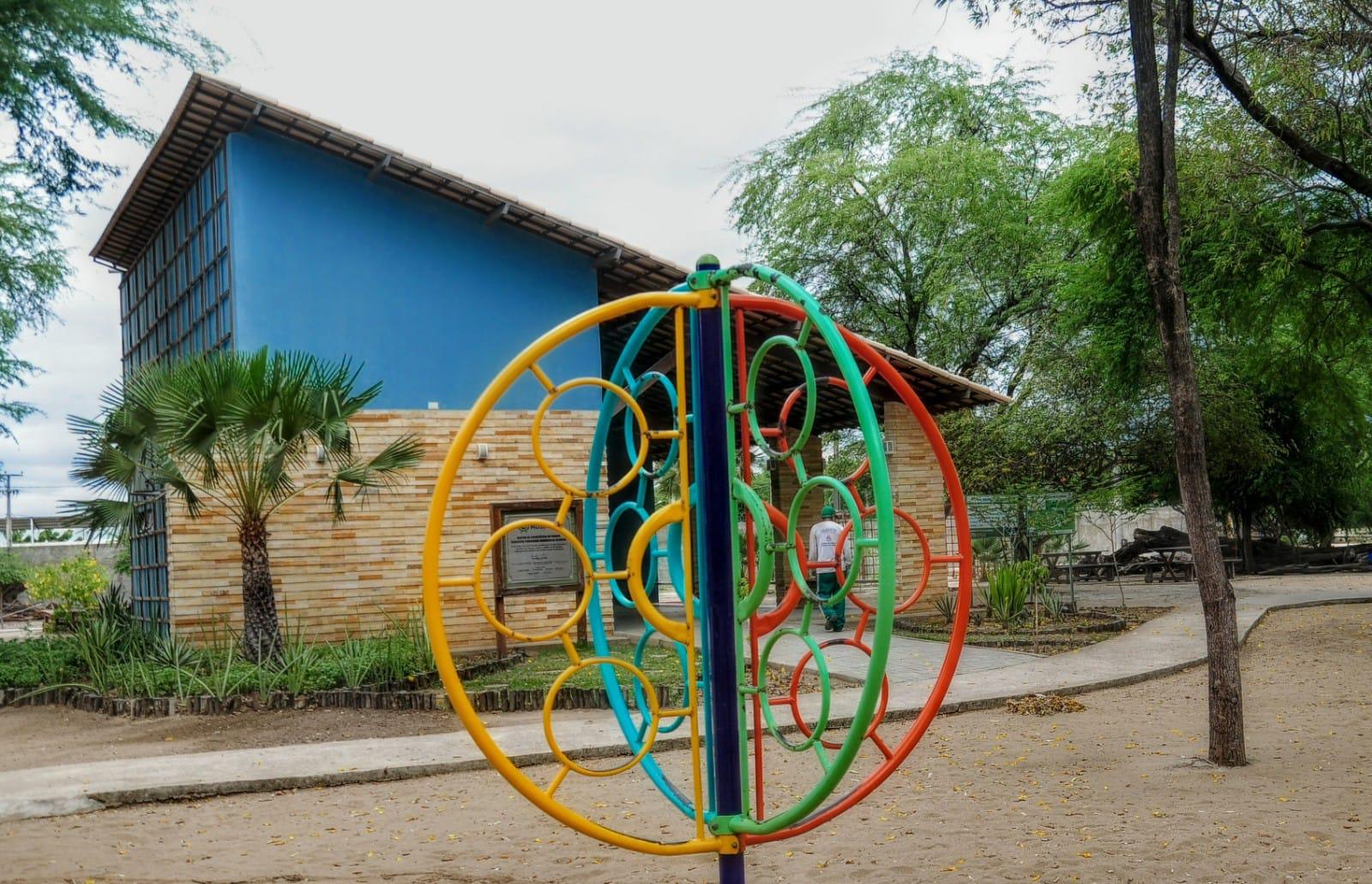 Parque Municipal oferta oficina de jogos ecológicos no mês das crianças