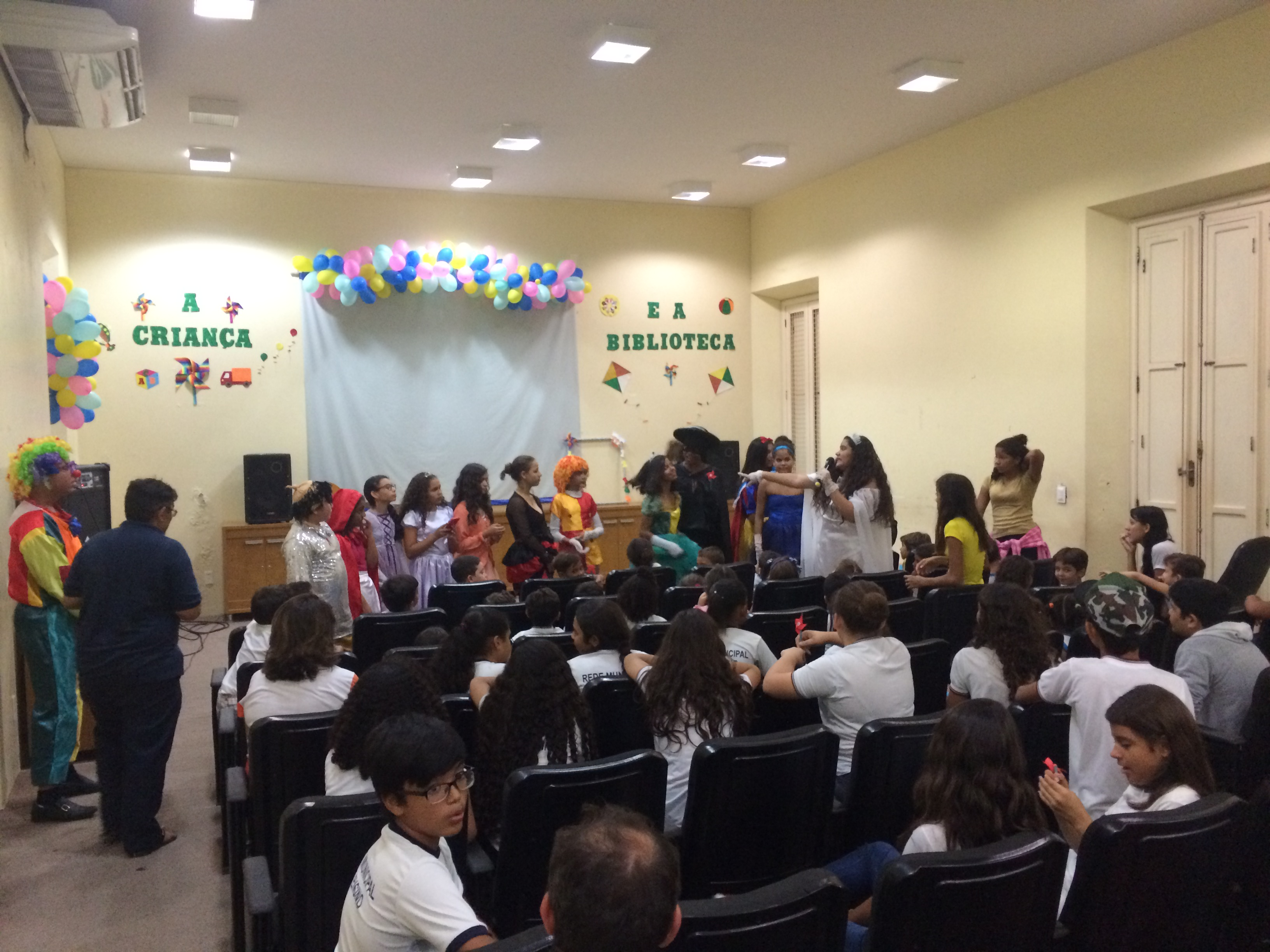 Semana da Criança é iniciada na Biblioteca Municipal