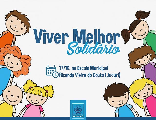 Projeto Viver Melhor realiza ação beneficente para crianças do Jucuri