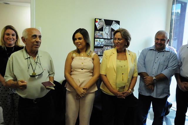 Vice-prefeita comemora aniversário e anuncia habilitação de Mossoró no Estação Juventude