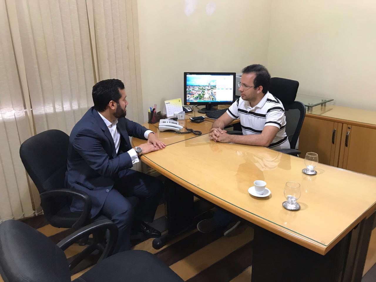 Ouvidoria Geral de Mossoró recebe visita de Ouvidor de Natal