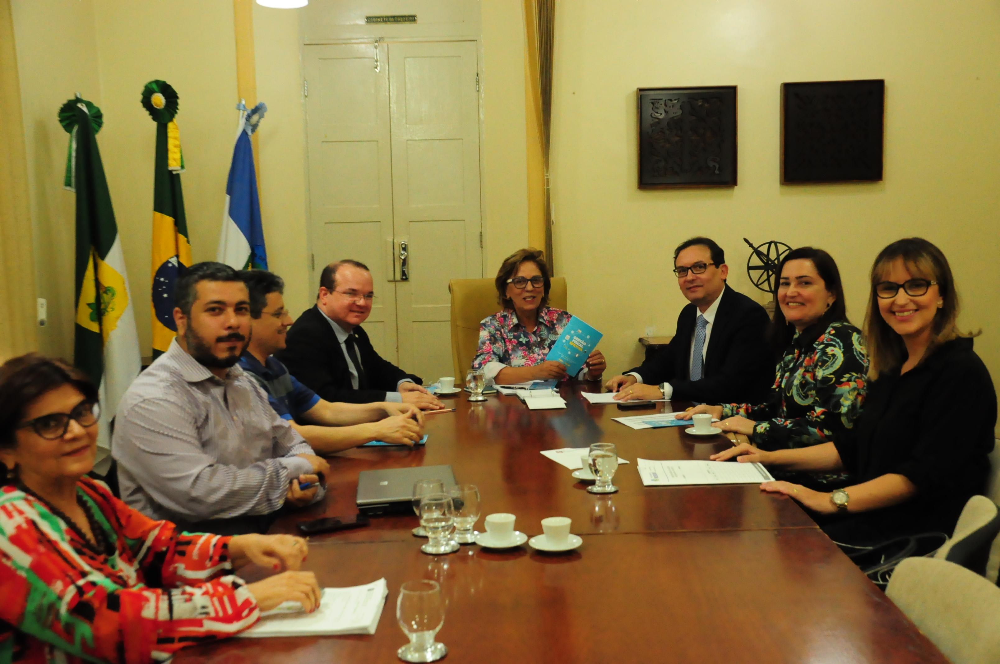 Prefeitura discute parceria com o Tribunal de Justiça do RN para programa de gestão fiscal
