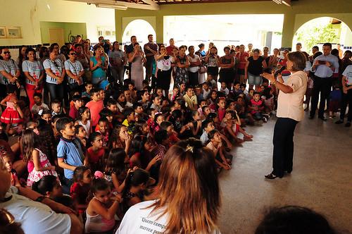 190 crianças do Jucuri são beneficiadas com ação social do Previ