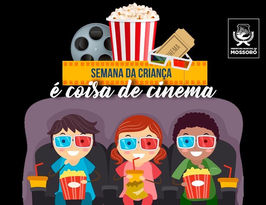 Programação festiva leva crianças ao cinema
