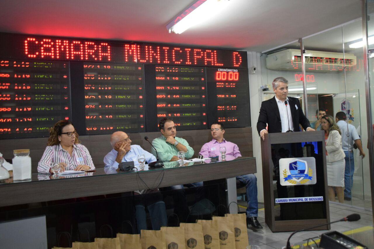 Prefeitura de Mossoró participa de audiência pública sobre a indústria salineira