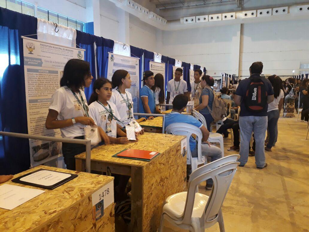 Escolas Municipais participam da Feira de Ciências do Semiárido Potiguar