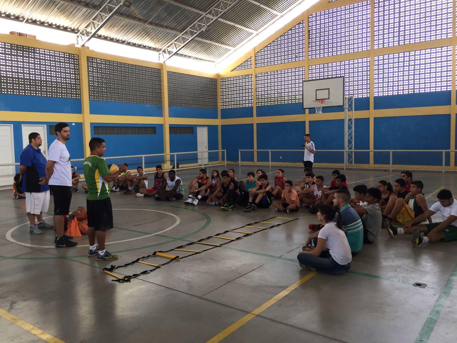 Prefeitura incentiva basquete mossoroense