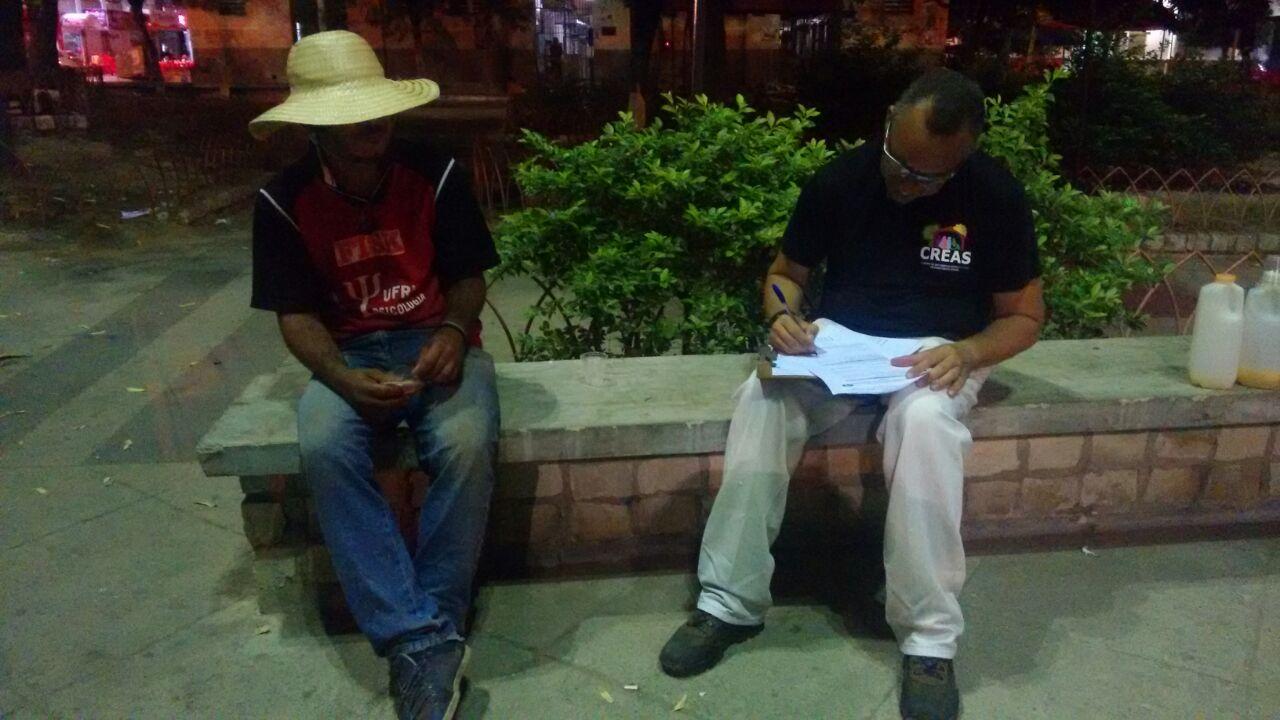 Censo identifica situação dos moradores de rua em Mossoró