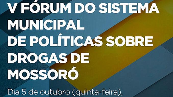 V Fórum do SISMUD discute políticas públicas sobre drogas nesta quinta-feira, 05