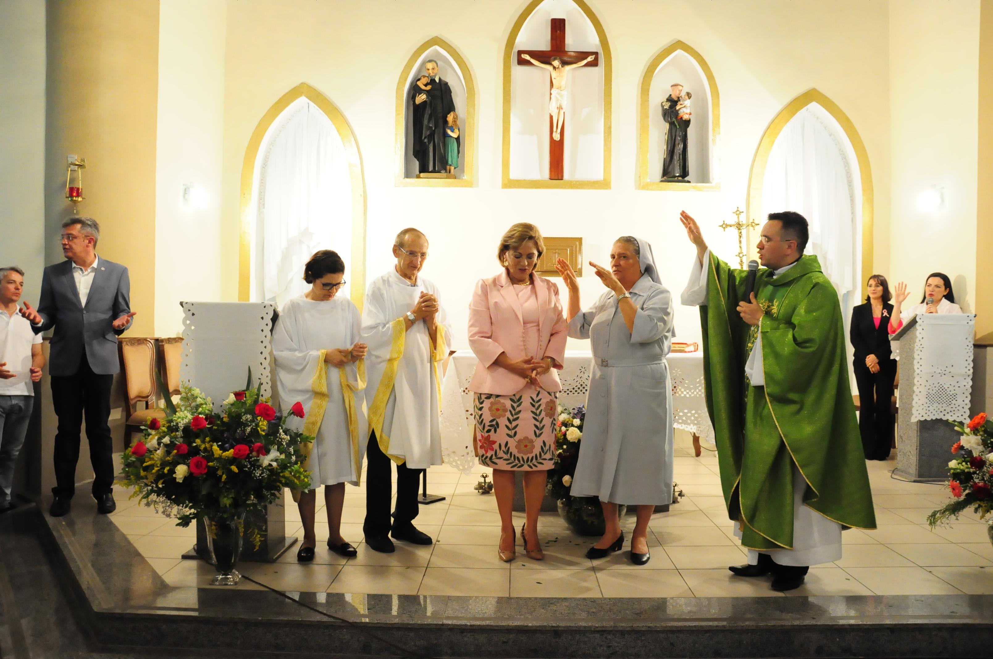 Missa em ação de graças celebra aniversário da prefeita Rosalba Ciarlini
