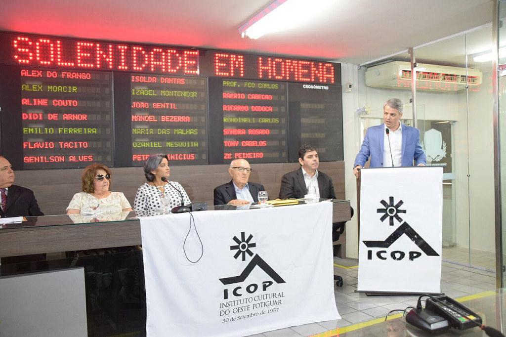 Prefeitura participa de sessão solene da Câmara em homenagem ao ICOP