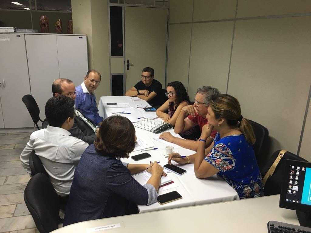 Município se reúne com representantes do Sindserpum
