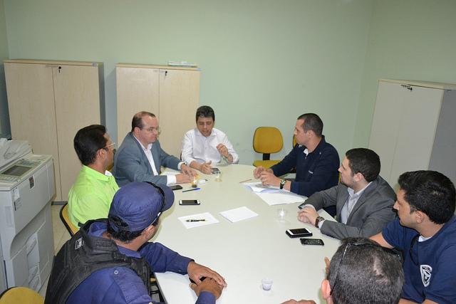 Município se reúne com Sindicato dos Guardas Municipais