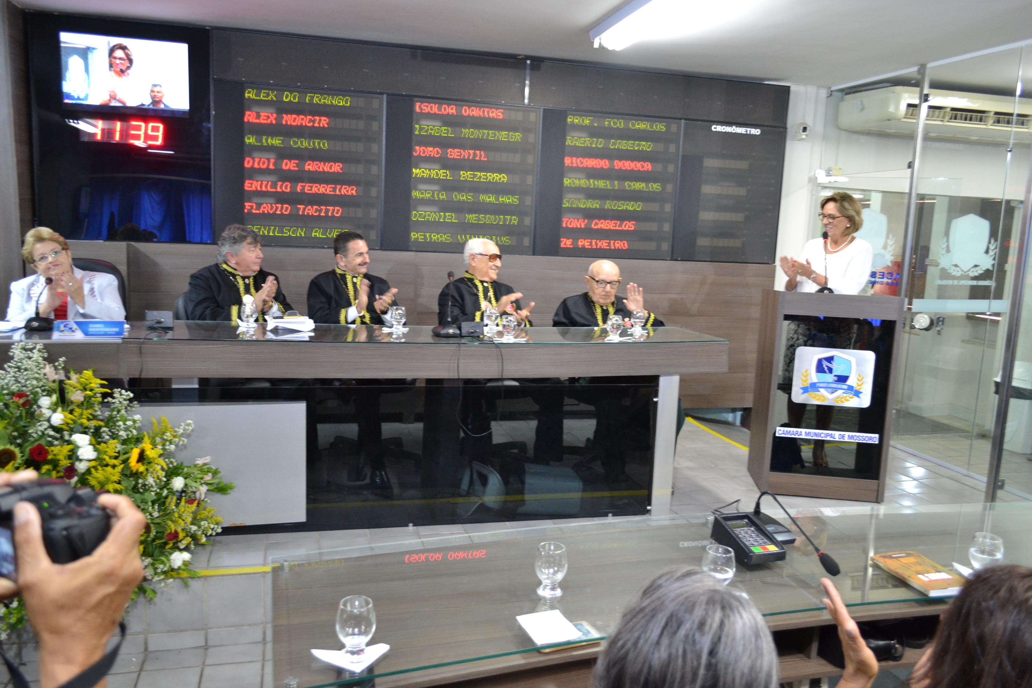 Prefeita Rosalba Ciarlini participa de Sessão Solene em homenagem a ACJUS