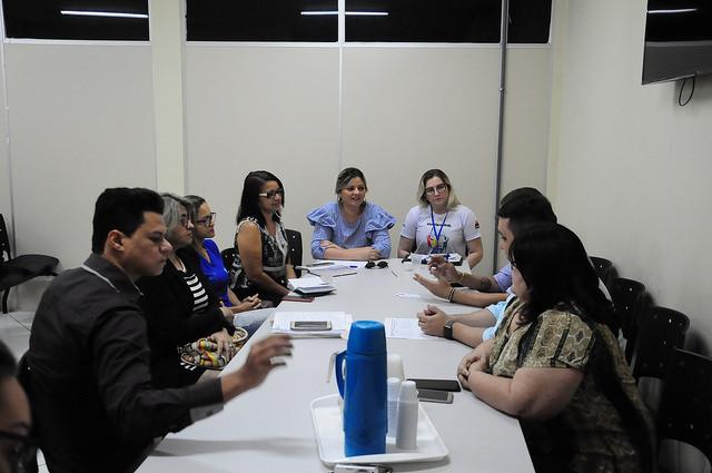 Representantes do município e da Fundação Abrinq se reúnem para tratar de ações a serem executadas em Mossoró