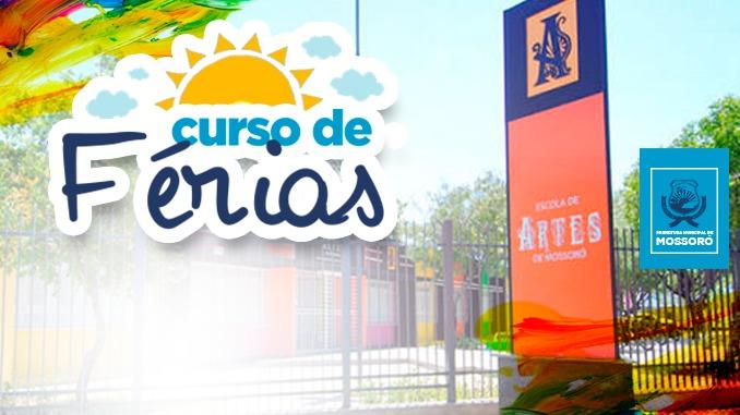 Escola de Artes abre inscrições para Curso de Férias