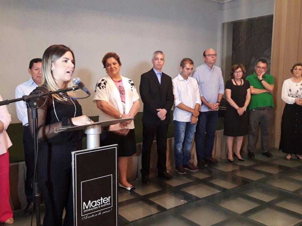 Vice-prefeita participa de lançamento de campanha em favor da Liga de Combate ao Câncer de Mossoró