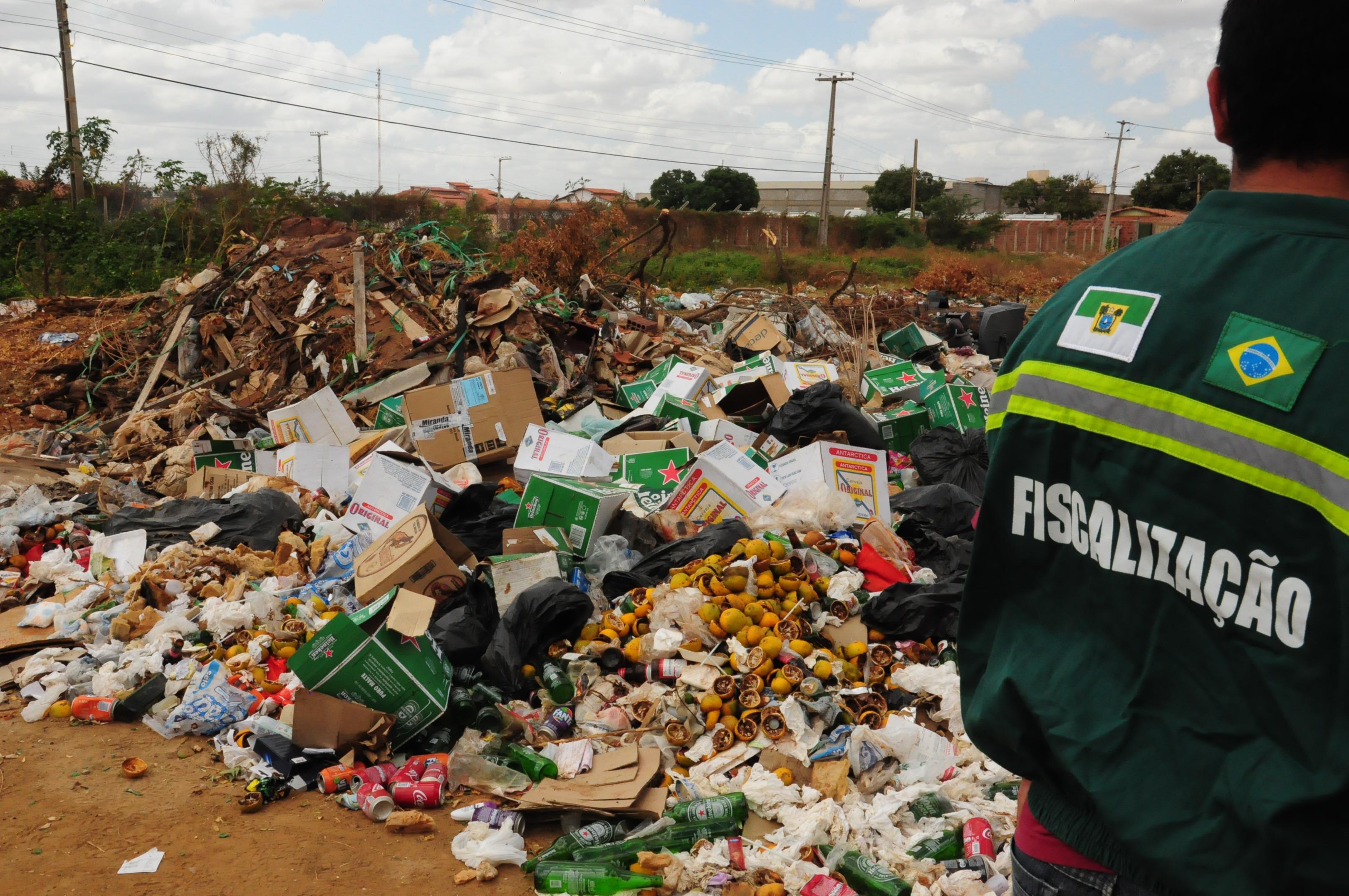 Prefeitura identifica lixões e intensifica trabalho de fiscalização