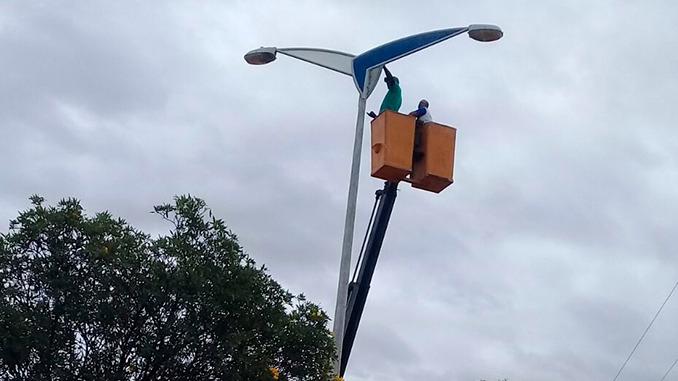 Infraestrutura contabiliza 9.447 serviços resolvidos de iluminação pública neste ano