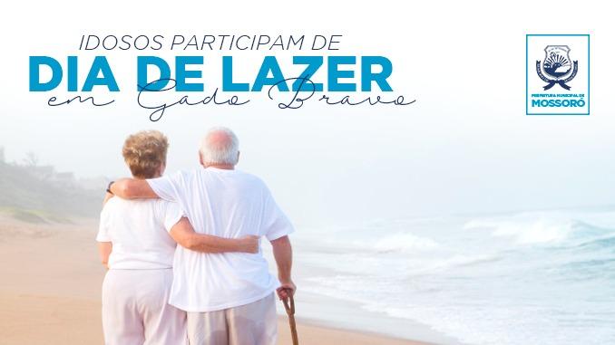 Mais de 800 idosos dos equipamentos sociais participam de dia de lazer em Gado Bravo