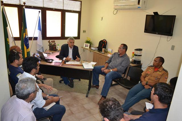 Gestão de Gabinete Integrada discute prevenção para ocorrências no período chuvoso