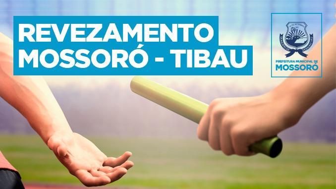 Município realiza revezamento Mossoró-Tibau no próximo domingo
