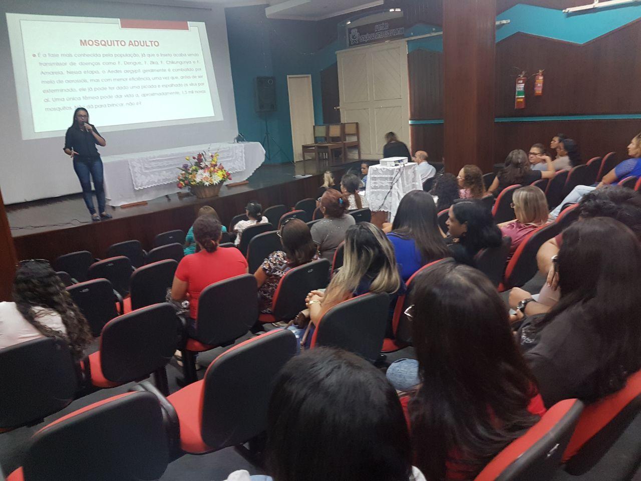 Secretaria de Saúde capacita 500 agentes de saúde para combater arboviroses