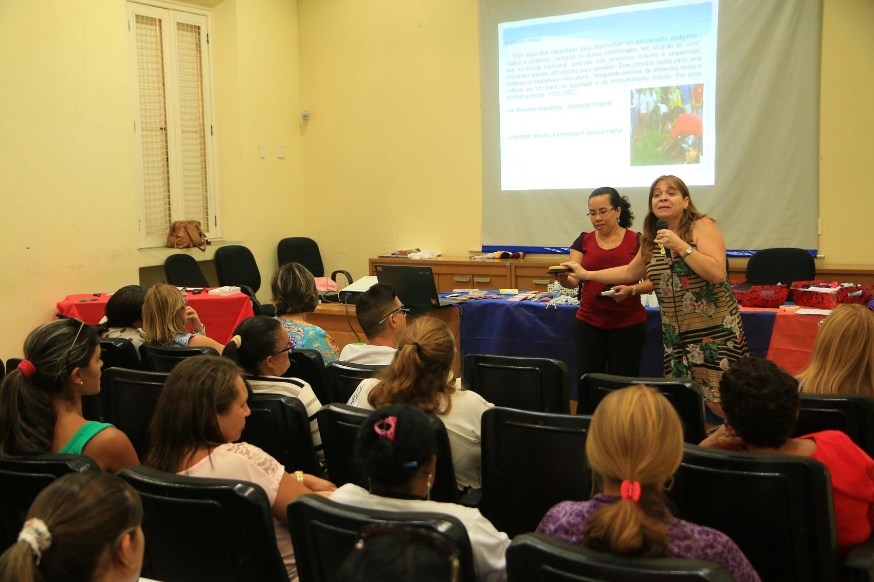 Educação realiza formação no Dia Internacional da Síndrome de Down