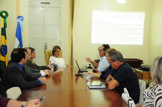 Comunicação Social e Cultura apresentam projeto do MCJ à prefeita Rosalba Ciarlini
