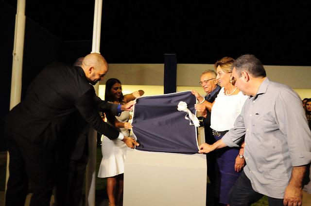 Prefeita Rosalba Ciarlini participa da inauguração do SEST SENAT
