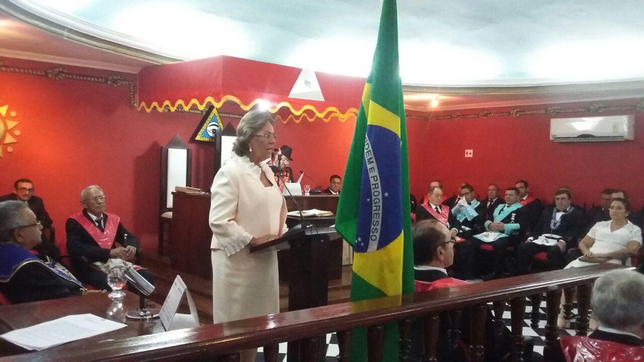 Prefeita Rosalba Ciarlini participa de Sessão Magna em homenagem a emancipação política de Mossoró