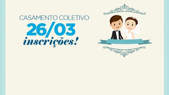 Desenvolvimento Social abre inscrições para primeira etapa do Casamento Coletivo