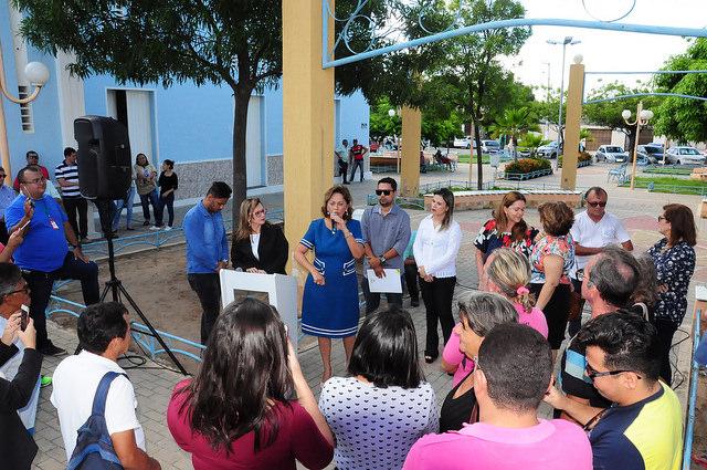 Reforma de praças prioriza melhoria da iluminação pública