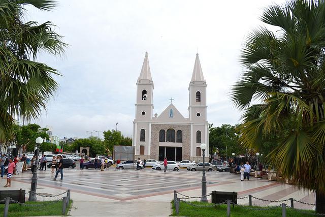 Praça Vigário Antônio Joaquim já é uma das mais de 35 obras que estão sendo executadas em Mossoró