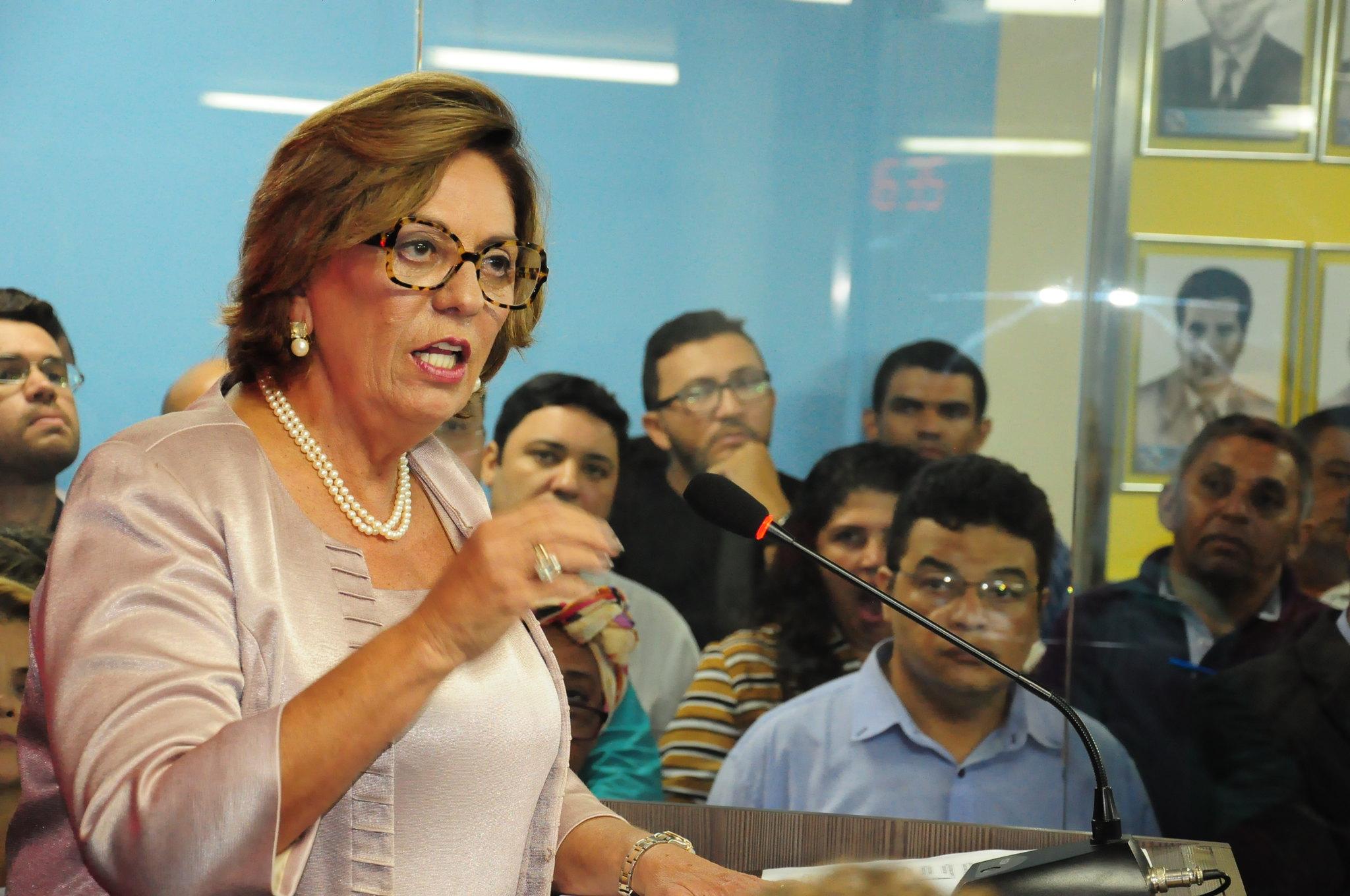 Prefeita Rosalba Ciarlini vai a Brasília para audiência no Ministério da Justiça