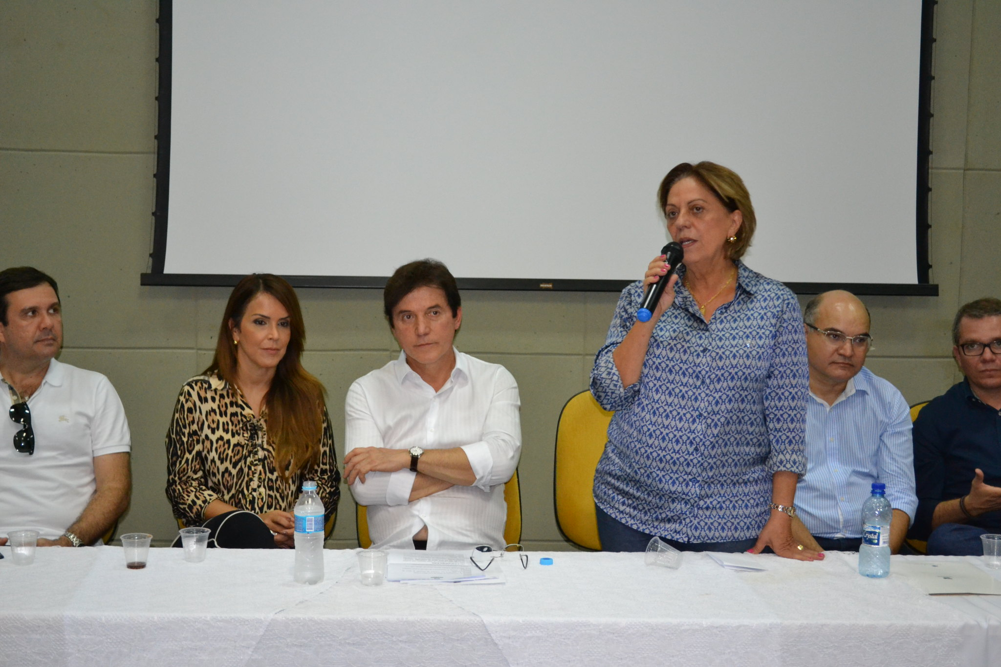 Prefeita Rosalba Ciarlini acompanha agenda administrativa do governador