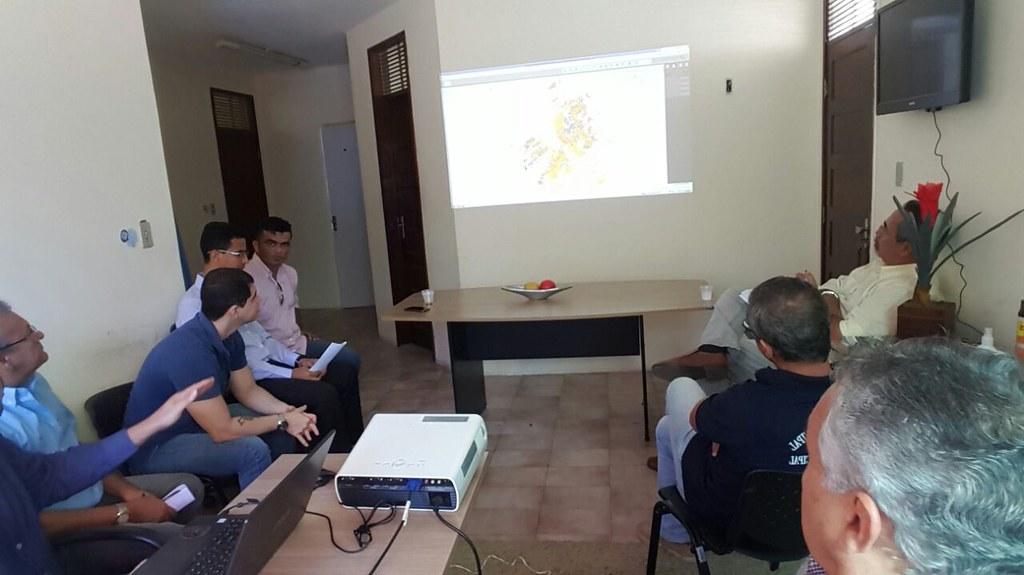 Secretaria de Segurança discute utilização de georreferenciamento para planejamento de ações