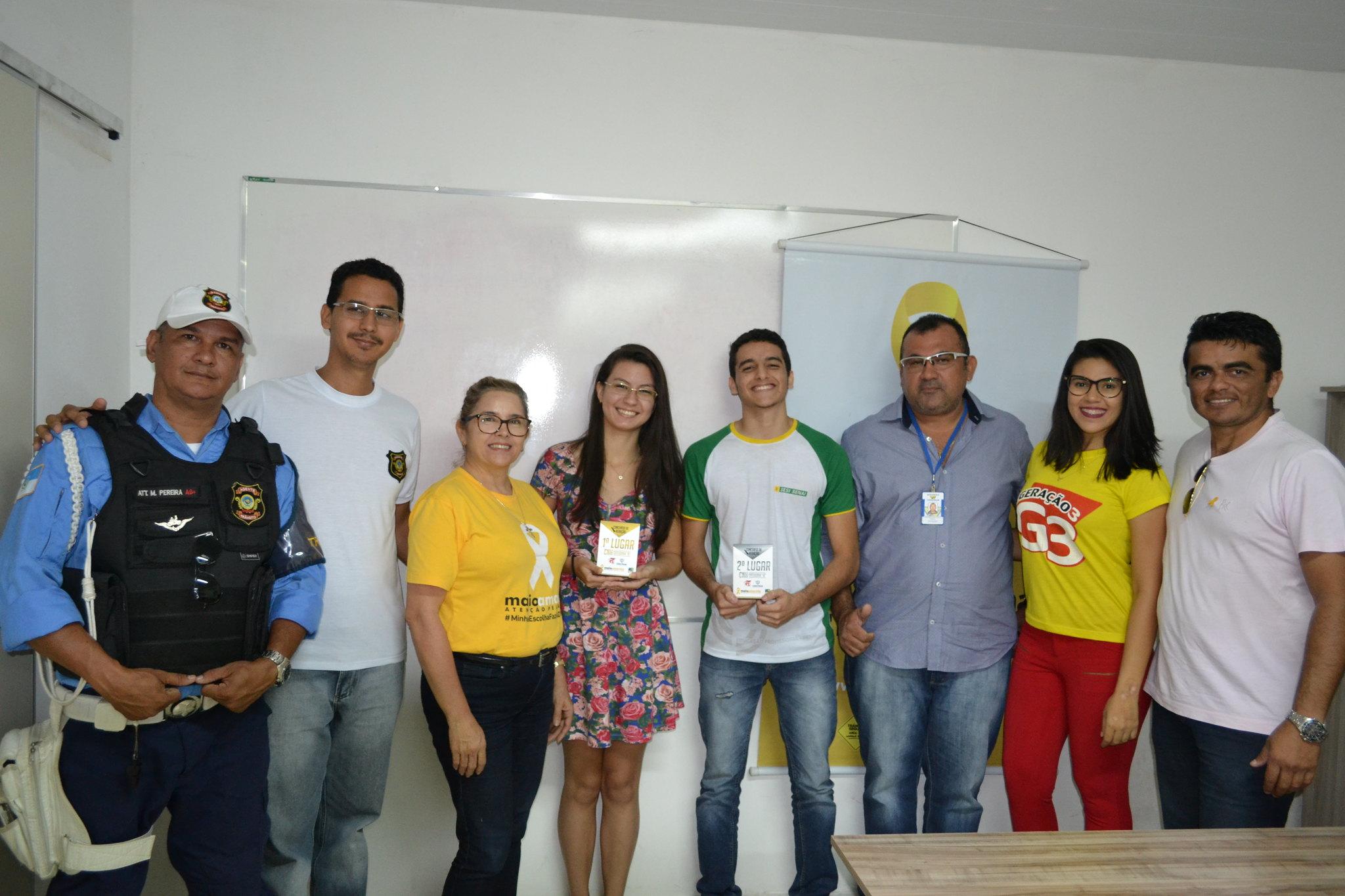 Entrega de prêmios de redação encerra Maio Amarelo