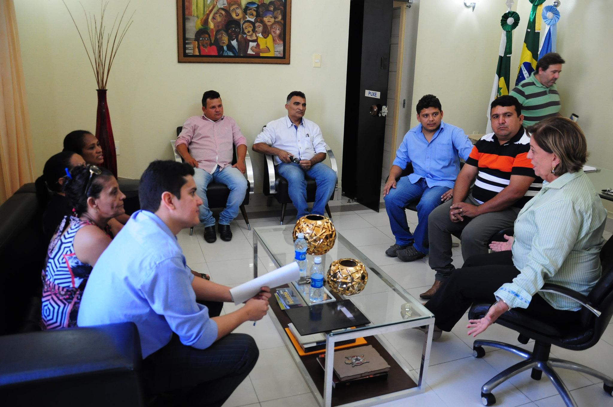 Prefeita recebe representantes do Assentamento Eldorado dos Carajás II
