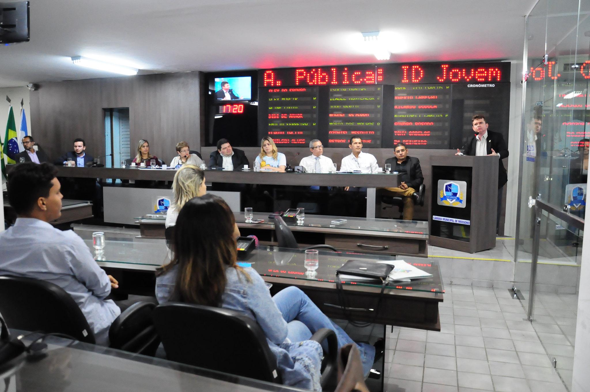 Município participa de audiência pública sobre implantação do ID Jovem