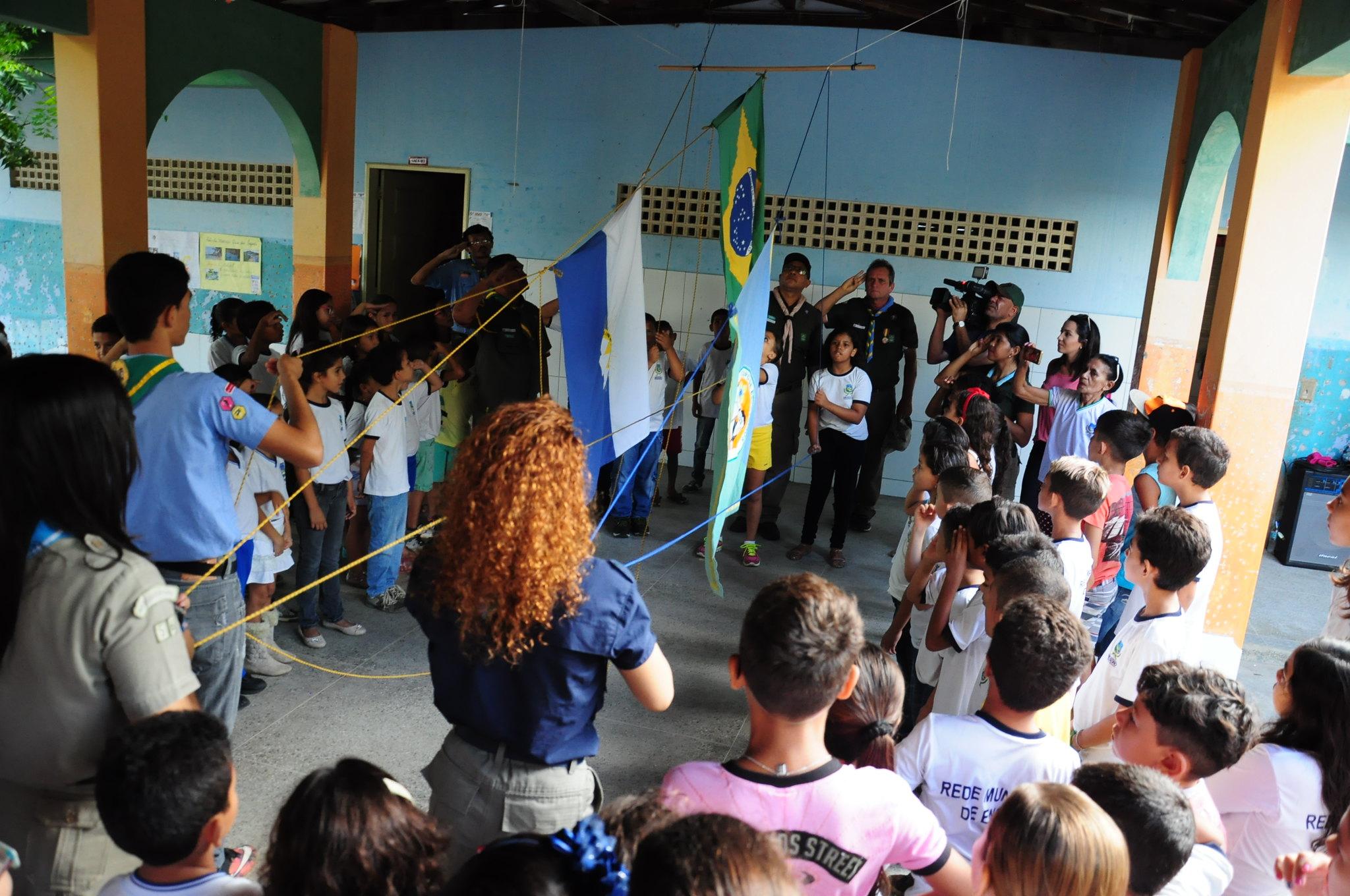 PMM discute parceria com escoteiros para realização de atividades em escolas municipais